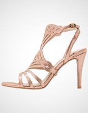 Buffalo Sandaler med høye hæler metallic bronze
