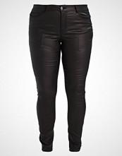 Junarose JRFIVE SEVEN COATED Slim fit jeans black