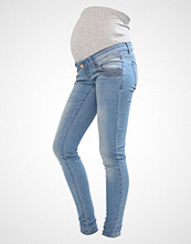 Mamalicious MLFALLULAH Jeans Skinny Fit light blue denim
