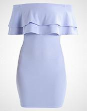 New Look Petite FRILL BARDOT Hverdagskjole blue