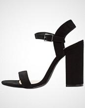 Even&Odd Sandaler med høye hæler black