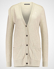 Abercrombie & Fitch BELTED Cardigan oatmeal