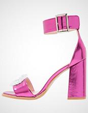 BEBO BELLISSA Sandaler med høye hæler pink