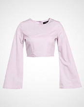 Missguided FLUTE SLEEVE CROP  Bluser lilac