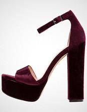 Steve Madden GONZOV Sandaler med høye hæler burgundy