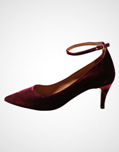 Pura López Klassiske pumps bordo