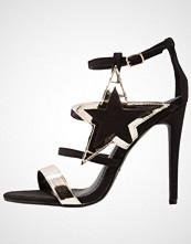 BEBO BEATRIX Sandaler med høye hæler black