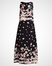 Wallis Petite BOTANICAL STRIPE Fotsid kjole black