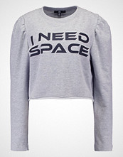 Missguided I NEED SPACE  Genser grey
