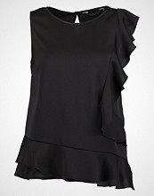 Dorothy Perkins BUBBLE RUFFLE Bluser black