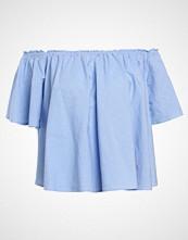 New Look STRIPE SWING BARDOT Bluser blue