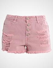 Missguided SINNER Denim shorts pink