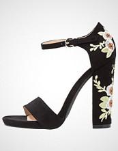 BEBO BERMUDA Sandaler med høye hæler black
