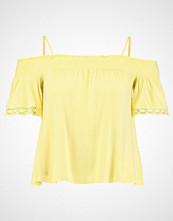 Even&Odd Tshirts med print light yellow