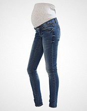 Mamalicious MLAMELIE Slim fit jeans medium blue denim