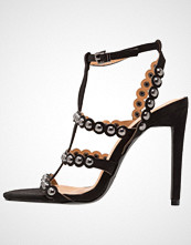 BEBO AUDREY Sandaler med høye hæler black/silver