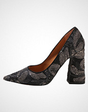 Pura López Klassiske pumps nerine black
