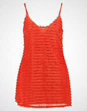 Missguided Petite EXCLUSIVE FRINGE Cocktailkjole red