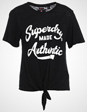 Superdry MADE AUTHENTIC KNOT Tshirts med print bonjour black marl