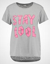 Jdy JDYTREND  Tshirts med print light grey melange