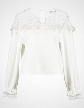Missguided FRILL DETAIL  Bluser off white
