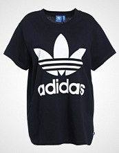 Adidas Originals BIG TREFOIL Tshirts med print legink/white