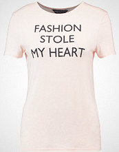 Dorothy Perkins FASHION STOLE MY HEART  Tshirts med print peach