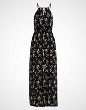 Even&Odd Fotsid kjole black/yellow