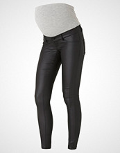Mamalicious Slim fit jeans black