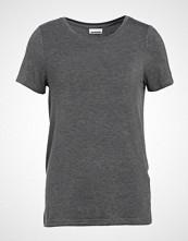 Noisy May NMHARRY Tshirts medium grey melange