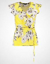 Dorothy Perkins FLORAL WRAP Bluser yellow