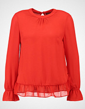 Dorothy Perkins GATHERED NECK AND CUFF  Bluser red