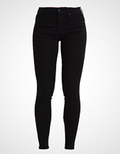 Abercrombie & Fitch HIGH RISE SUPER SKINNY Jeans Skinny Fit black