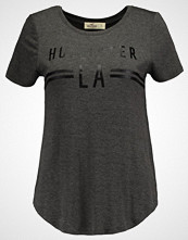 Hollister Co. PRINT CORE LOGO Tshirts med print dark grey
