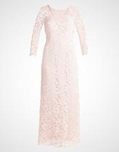 Warehouse LACE VBACK MIDI Fotsid kjole pale pink
