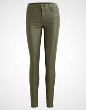 Vila VICOMMIT NEW COATED Jeans Skinny Fit vetiver