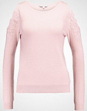 Warehouse EMBROIDERED COLD SHOULDER  Jumper pink