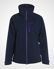Jack Wolfskin CASCADE PASS 2IN1 Regnjakke midnight blue