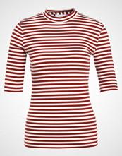 Minimum CHATRINE Tshirts med print red ochre
