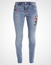 Vero Moda VMADELE CIGARETTE  Straight leg jeans medium blue denim