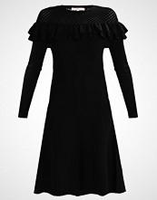 Derhy JACKPOT Strikket kjole noir
