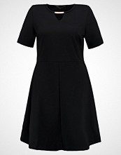 Dorothy Perkins Curve TRIM FIT AND FLARE Sommerkjole black