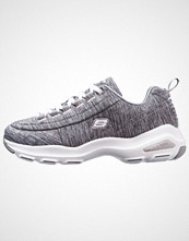 Skechers Sport D'LITE ULTRA Joggesko gray heathered/white/silver