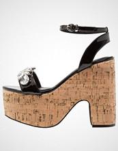 BEBO BRIDLEY Sandaler med høye hæler black