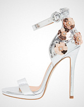 BEBO BROOKE  Sandaler med høye hæler silver
