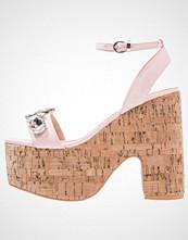 BEBO BRIDLEY Sandaler med høye hæler pink