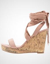 New Look Wide Fit WIDE FIT OLA Sandaler med høye hæler oatmeal