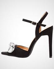 BEBO BRAIDEN  Sandaler med høye hæler black