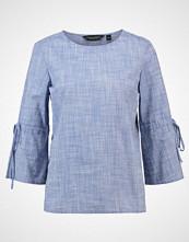 Dorothy Perkins FLUTE SLEEVE TIE Bluser blue