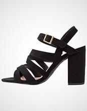 New Look Wide Fit WIDE FIT SLUSHIE Sandaler med høye hæler black